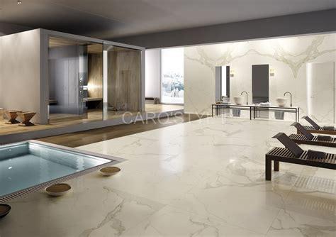 carrelage marbre salle de bain fa 239 ence d inspiration marbre italien pour sol et mur de salle de bain en gr 232 s c 233 rame 233 maill 233