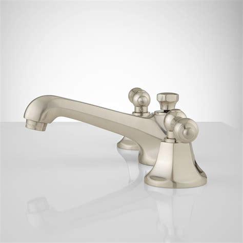 york widespread bathroom faucet lever handles