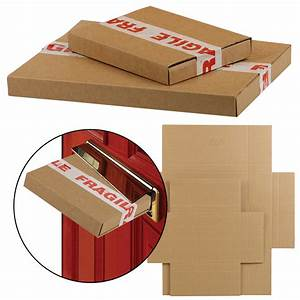 strong royal mail large letter box cardboard parcel With big letter box