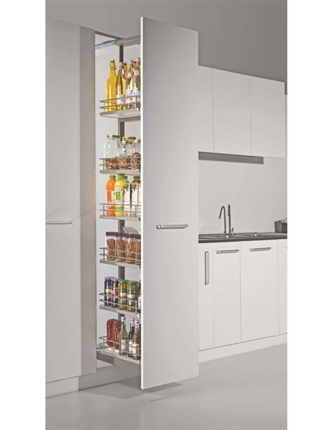 Sestino Italian Pull Out Larder System, Suits 500mm Wide