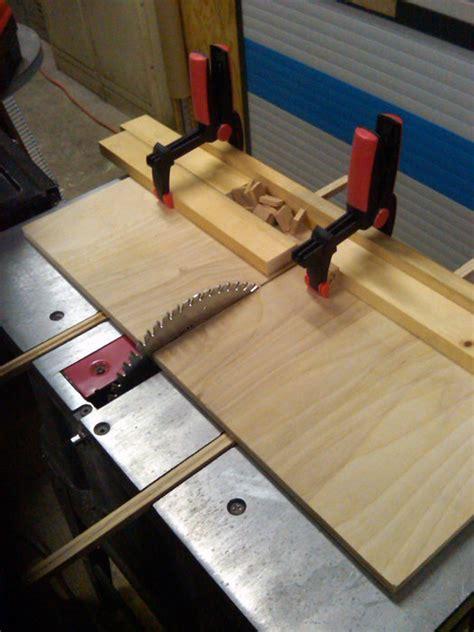 blank table  sled jig  larrydnjr  lumberjocks