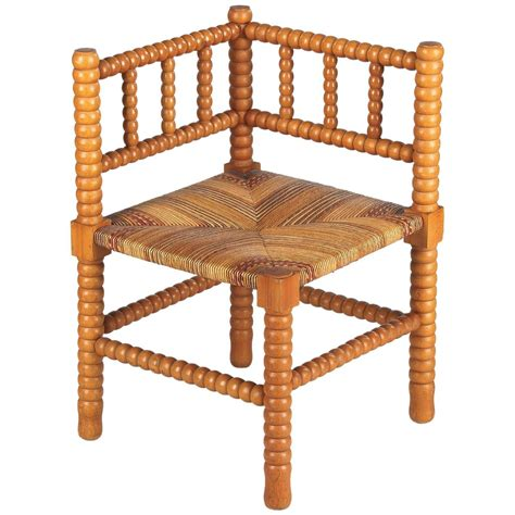 country seat corner chair 1940s for sale at