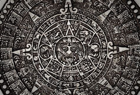 ancient mayan calendar wallpaper  stone carving theme