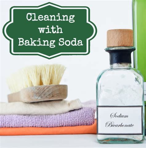 do you how can you use baking soda to clean