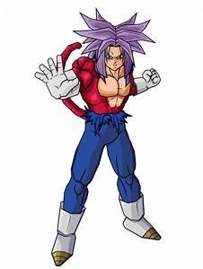 Image - Trunks Futur Super Sayan 4 (Saga Cyborg).png ...