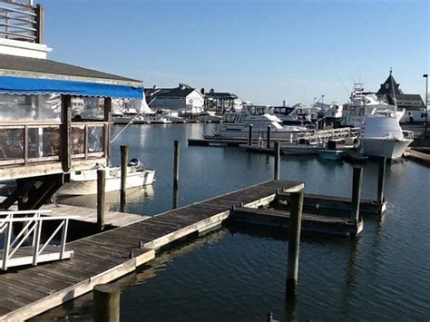 flight deck diner nj view from our marina deck picture of boathouse
