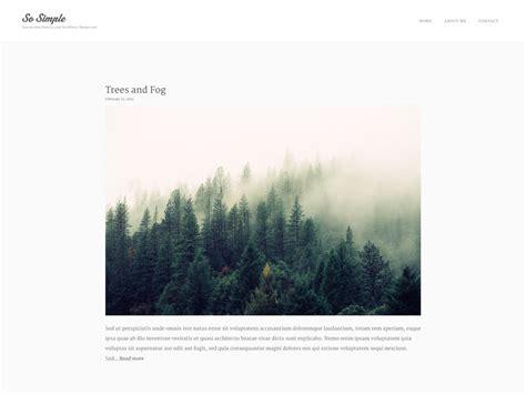 Free Minimal Themes 20 Free Minimalist Themes For Blogs Portfolio