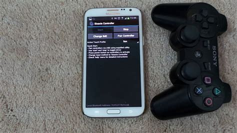 how to connect ps3 controller to android how to connect a ps3 controller with s5 s4 note 3 and