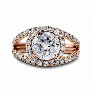 Double band diamond halo engagement ring los angeles for Double band diamond wedding ring