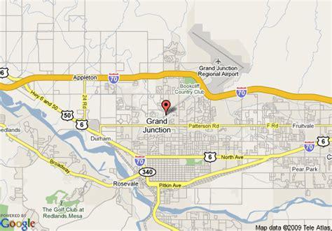 best western grand junction map of best western sandman motel grand junction