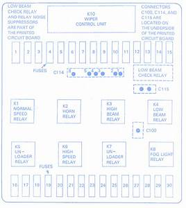 Bmw E30 1999 Fuse Box  Block Circuit Breaker Diagram