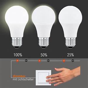 Led Leuchtmittel Dimmbar : led leuchtmittel e27 10w 800 lumen dimmbar per ~ Michelbontemps.com Haus und Dekorationen