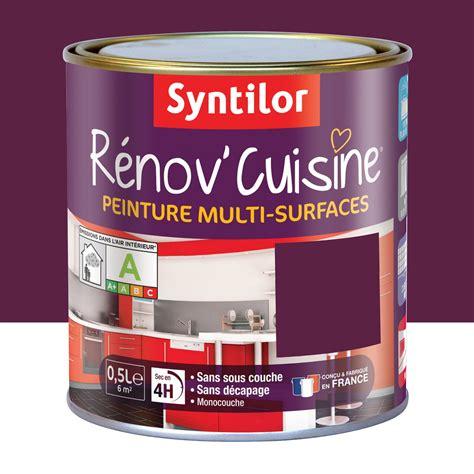 cuisine aubergine leroy merlin peinture rénov 39 cuisine syntilor violet aubergine 0 5 l