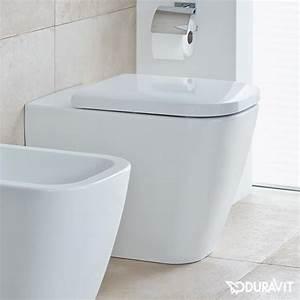 Duravit Happy D : duravit happy d 2 floorstanding washdown toilet white with wondergliss 21590900001 reuter shop ~ Orissabook.com Haus und Dekorationen