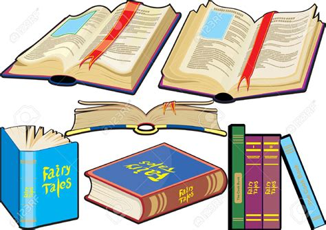 Cartoon Picture Of Books Clipart Collection