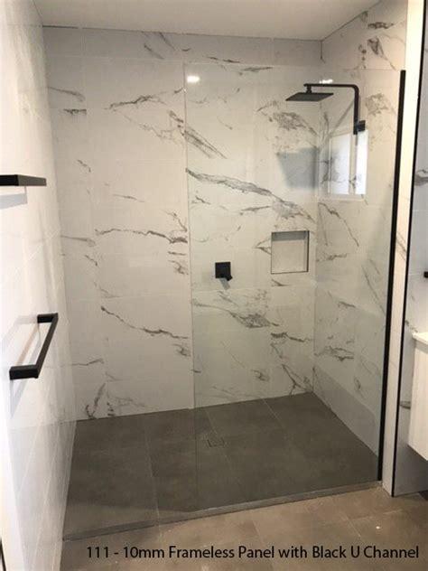 frameless panels ultimate shower screen