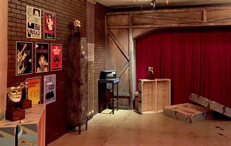 escape ève escape room la s brain teaser attraction will you trapped in a haunted theatre