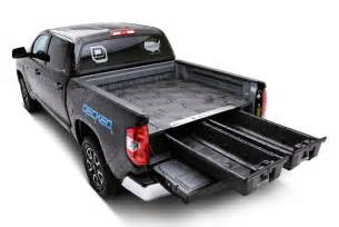 decked truck bed organizers storage systems carid com