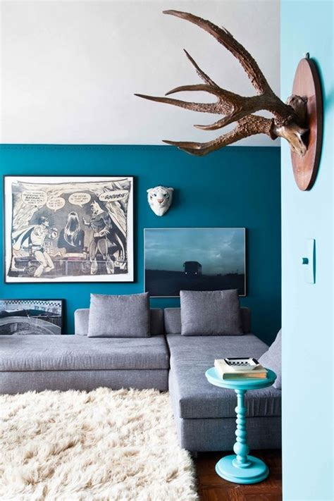 blue gray decor decor modern living room blue and grey just decorate