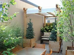 les 25 meilleures idees de la categorie pergola With ordinary amenagement terrasse exterieure design 5 20 idees pour la pergola design sur le toit