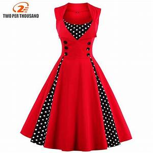 S 5xl women robe pin up dress retro 2018 vintage 50s 60s for Robe pin up vintage