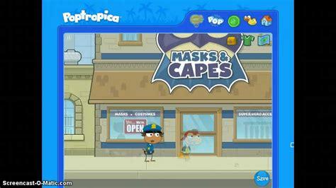 Poptropica Super Power Island Full Walkthrough Youtube
