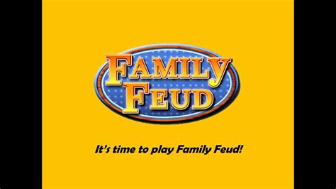 template family feud youtube