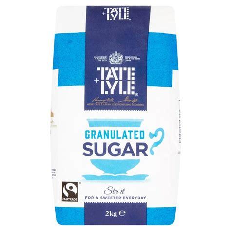 Tate & Lyle Fairtrade Granulated Sugar 2kg from Ocado