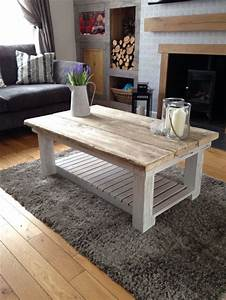 reclaimed scaffold board coffee table perfect addition to With modern chic coffee table