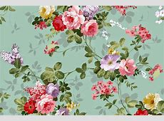 Doodlecraft Vintage Floral Wallpaper Freebies!