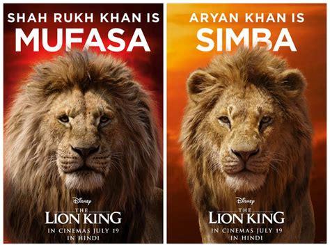 shah rukh khan  voice  mufasa  lion king