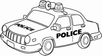 Police Clip Clipart Coloring Cars Bmp Clipartion