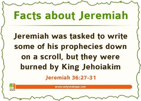 Facts about the book of jeremiah, casaruraldavina.com