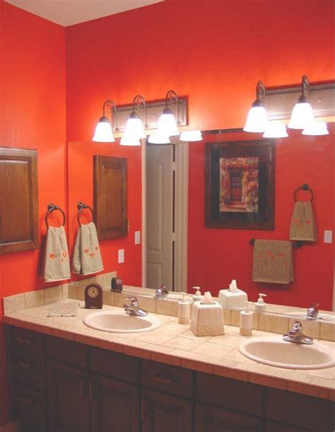 11 best images about orange bathrooms on oak