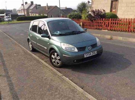 renault green renault 2005 scenic dynamique dci 120 green car for sale