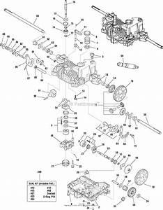 K51 Tuff Torq Transaxle Parts