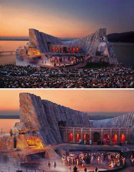 carmen opera set  bregenz festival set design theatre