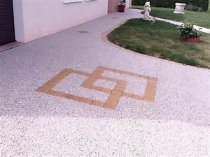 Resine Pour Gravier : terrasse r sine gravier zimerfrei com id es de design pour ~ Premium-room.com Idées de Décoration