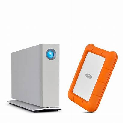 Lacie Thunderbolt Rugged D2 Icon Refreshes Drives