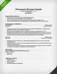 Pharmacy Technician Resume Sample