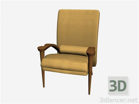 3d Model Armchair Ryno Il Loft Collection Armchairs