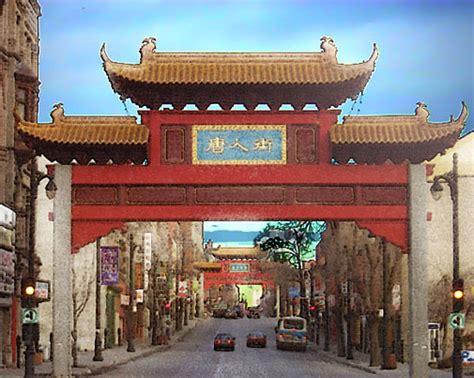 tour du monde à le quartier chinois quartier chinois de montréal 1999