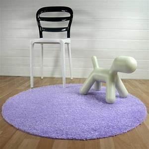 tapis rond lavable en machine violet ideal pour salle de With tapis rond pour salle de bain