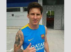 Messi est de retour FCBarcelonecom