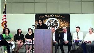 Cesar Chavez Jr. High School Dedication Ceremony - YouTube
