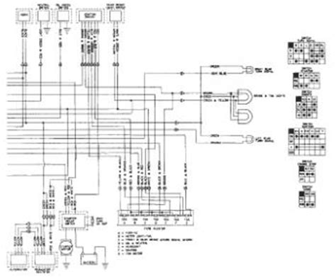 honda shadow vt1100 wiring diagram and electrical system troubleshooting 85 95 circuit