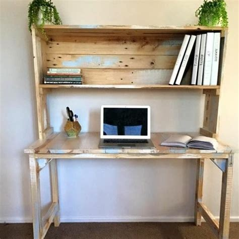 bureau en palettes bureau en palette modèles diy et tutoriel pour le