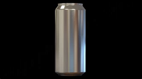 Aluminum Can High Detail 16 Oz Free 3d Model Sldprt Sldasm