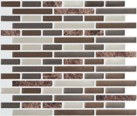 home depot canada marble tile stick it tiles brown marble stick it tile 9 25 inch x 11