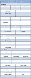 worksheet assets and liabilities worksheet excel With asset and liability statement template